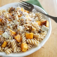 Butternut Squash, Parmesan, and Pasta