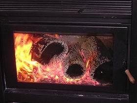 Vista del fuego del modelo CALAFATE