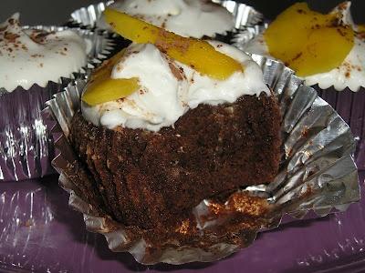 Chocolate, Rum, and Mango... Cupcakes.   Cups of Joy! Cupcakery   Pin ...