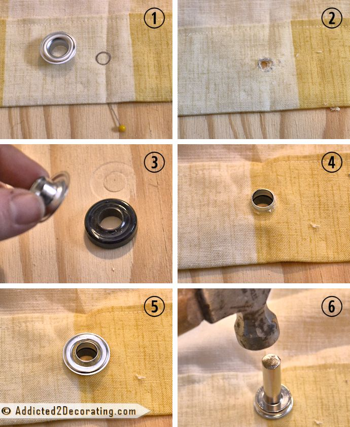 Shower Curtain With Grommet Instructions Project Ideas Pinterest