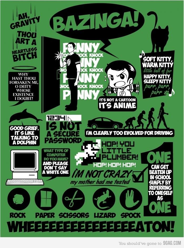 I <3 Sheldon!