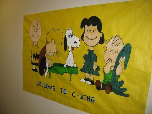 Peanuts Crew | RA Bulletin Board Ideas | Pinterest