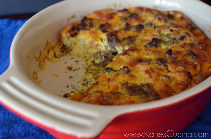 Sausage, Egg, & Veggie Casserole | Recipe