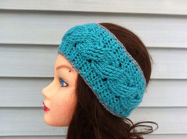 Crochet Headband Pattern Cable : Crochet Cable Headband pattern by Carrissa Knox