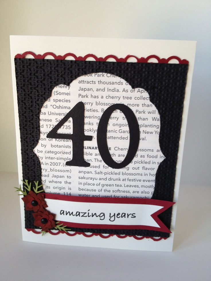 40th birthday  Party Ideas and Gifts  Pinterest