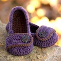 Easy to Make Crocheted Slippers for Kids | eHow