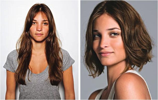 Hair Makeover : long to short hair makeovers Short Hair Cuts Pinterest