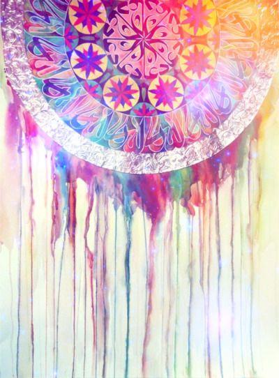 Beautiful dream catcher design art pinterest for Pretty designs to paint