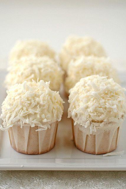 Coconut Cupcakes. Delicious