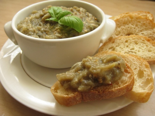 Roasted Eggplant & Bell Pepper Dip (Kyopolou) Recipes — Dishmaps