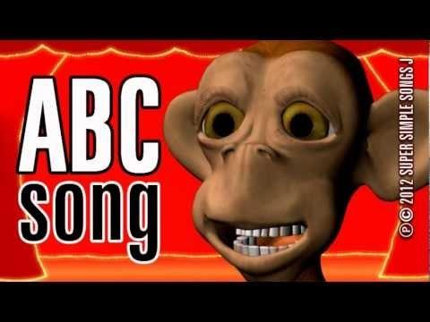 Children monkey incredible performance of alphabet song kidstv 123