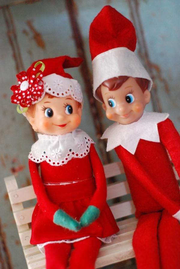 Elf On The Shelf Girl Boy Christmas Party Planning Ideas