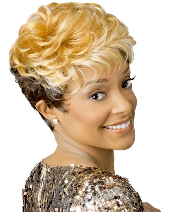 Short Wig For Black Women - New Born Free Synthetic Wig Nicole