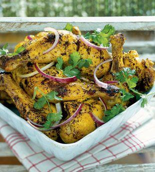 Tandoori-Style Grilled Chicken This recipe adapts traditional Indian ...