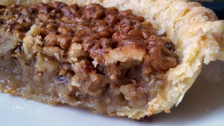Maple Walnut Pie | Recipes - Pies | Pinterest