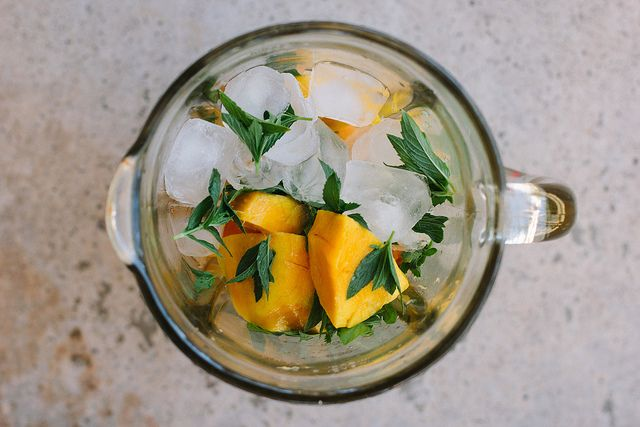 mango, mint + lime lassi by My Darling Lemon Thyme, via Flickr