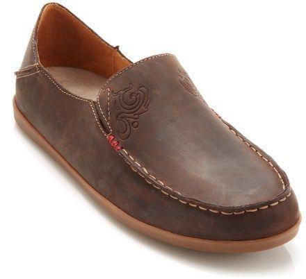 OluKai Nohea Nubuck Shoes - These shoes feel like butter on the inside