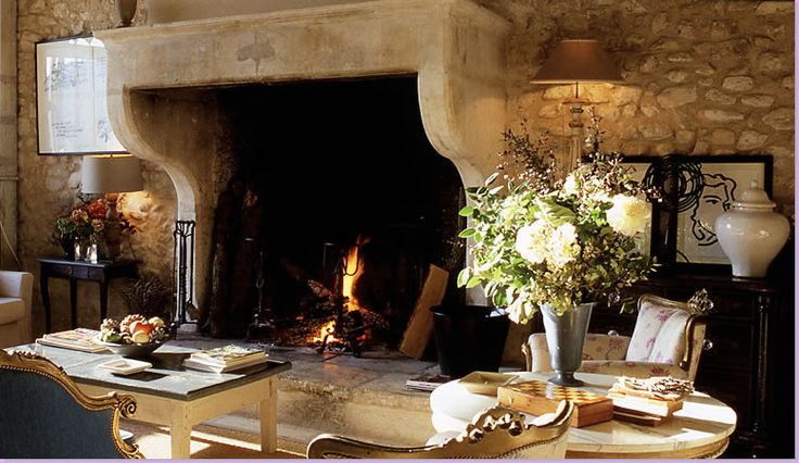 French country fireplaces inspiration house plans 50627 for French country stone fireplace
