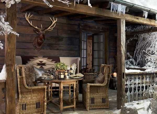Alpine country home decor ideas rustic elegance from ralph lauren ho - Bavarian style houses rustic elegance ...