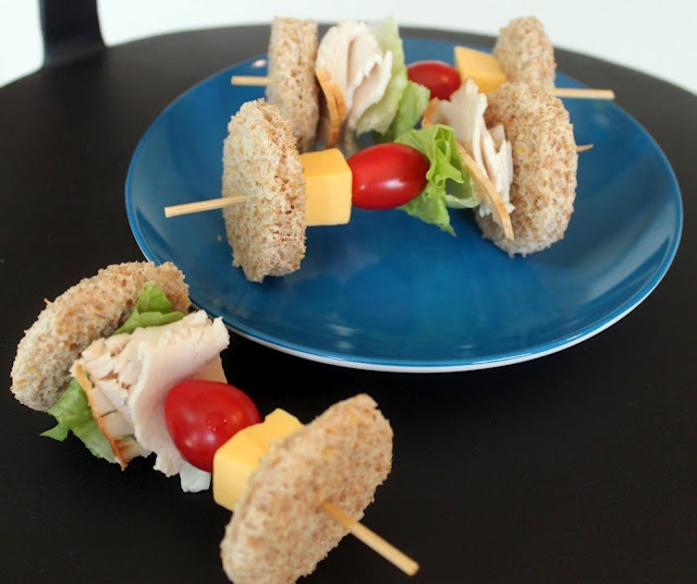 Dinner on a stick tutorial. Looks like a healthy and fun way to serve ...