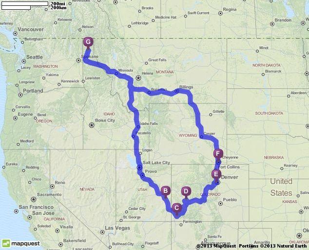 2014 Colorado Trip Planning Vacation Planning Pinterest