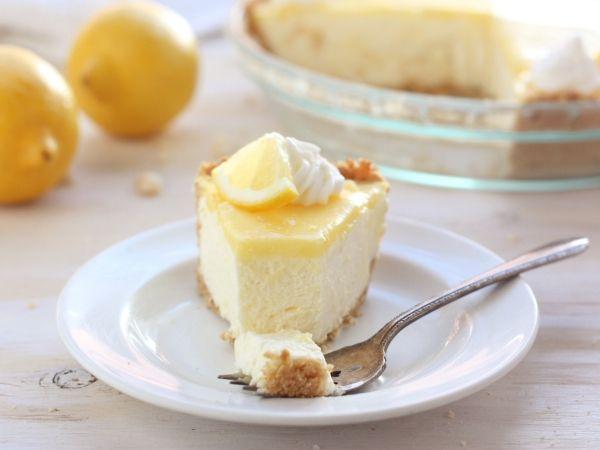 Lemon Mousse Damask Tart Recipe — Dishmaps