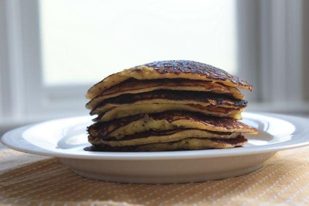 Cachapas Venezuelan fresh corn pancakes -- recipe and image by Mi ...