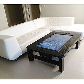 Rent a TouchScreen Coffee Table
