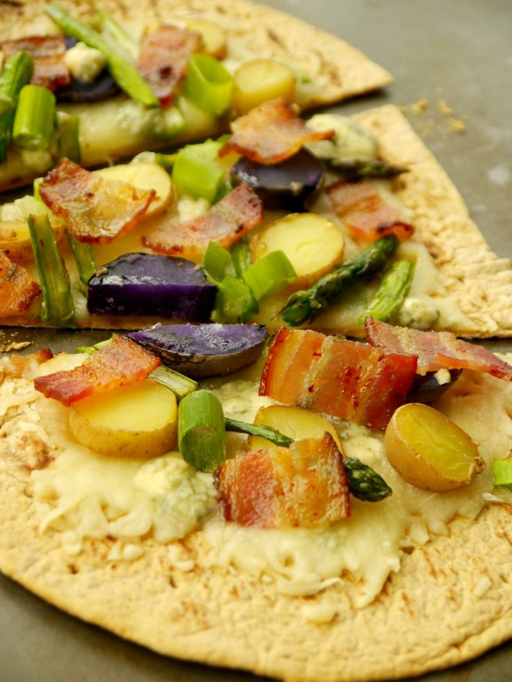 Asparagus and Fingerling Potato Flatbread Pizza 3 | www ...