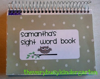 word/word  books  abc word  book for family sight alphabetical tabs sight add order pinterest