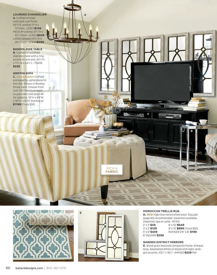 Ballard Designs Online Catalogs For The Home Pinterest