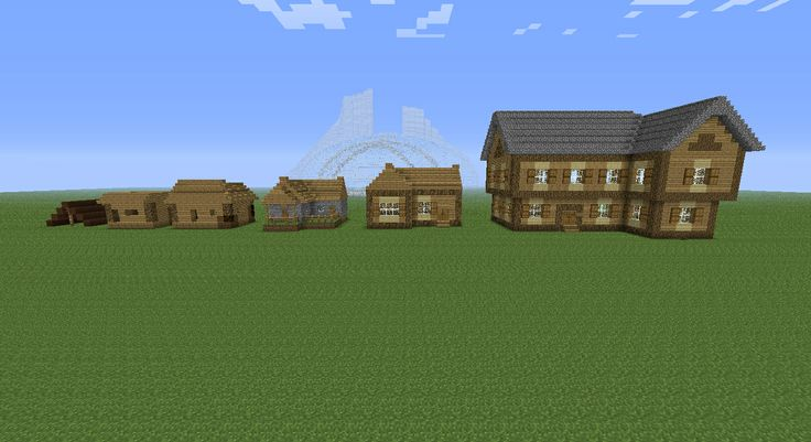 evolution of minecraft houses minecraft pinterest