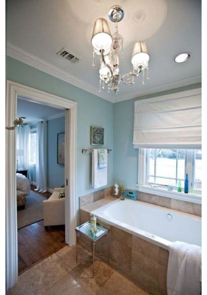 Rainwashed by Sherwin Williams | Bathroom | Pinterest