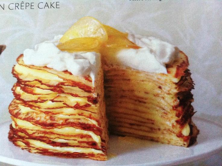 Meyer Lemon Crepe Cake Recipe — Dishmaps