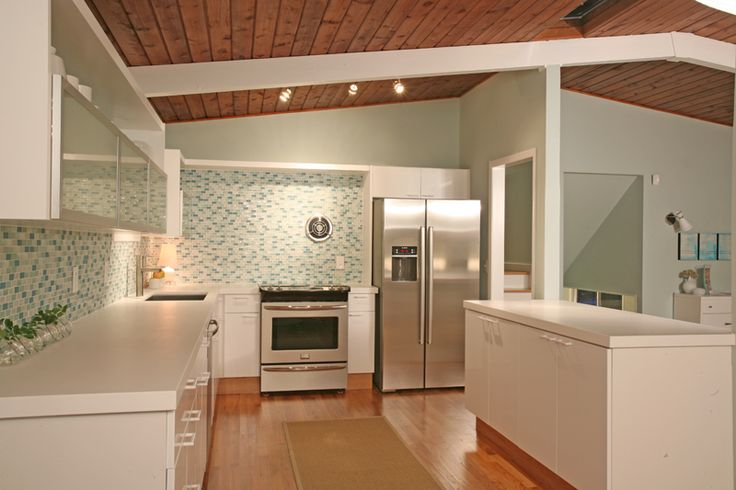 Mid Century Modern Kitchen Mid Century Modern Kitchens Pinterest