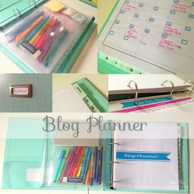 My May Sunshine: My Blog Planner