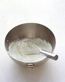 Basic whipped cream