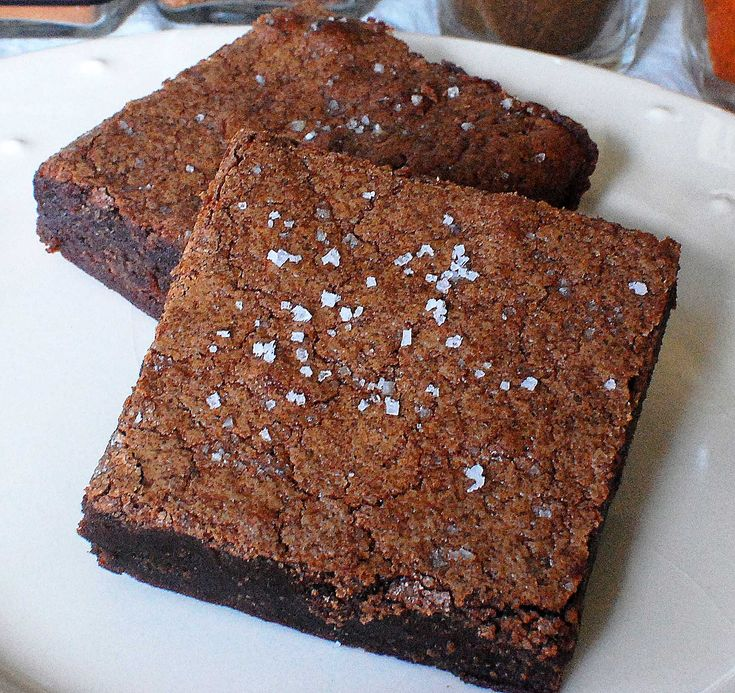 Four Spice Chocolate Brownies | Brownies recipe | Pinterest
