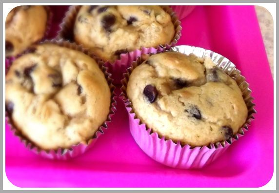 Cranberry Chip Muffins!