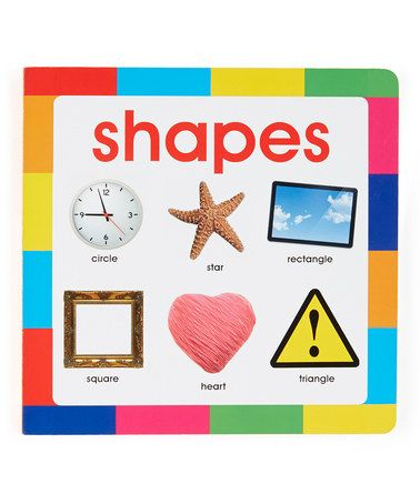 My First Book: Shapes Hardcover