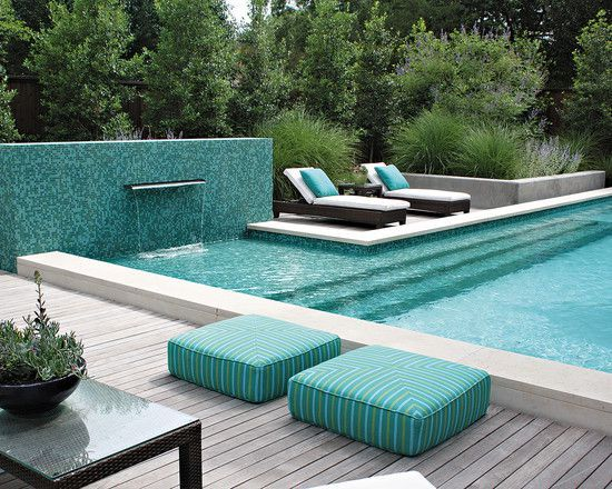Elegant Green Swimming Pool Design Ideas Pool Stuff