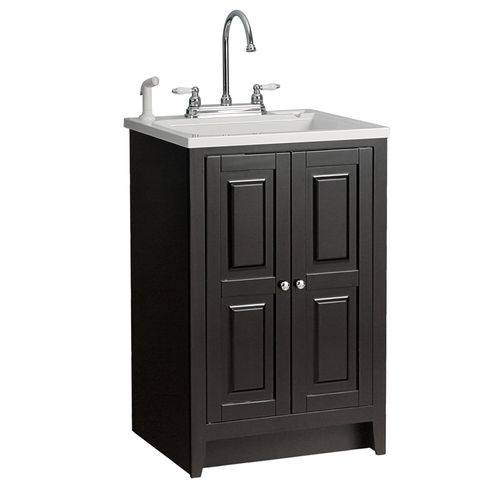 utility sink from Lowes Laundry Room and Coat Nook Pinterest