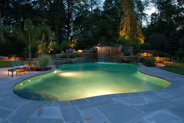 free form swimming pool outdoor living pinterest. Black Bedroom Furniture Sets. Home Design Ideas