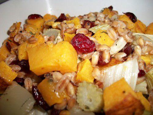 Roasted Butternut Squash, Fennel, and Farro Salad recipe on Food52.com