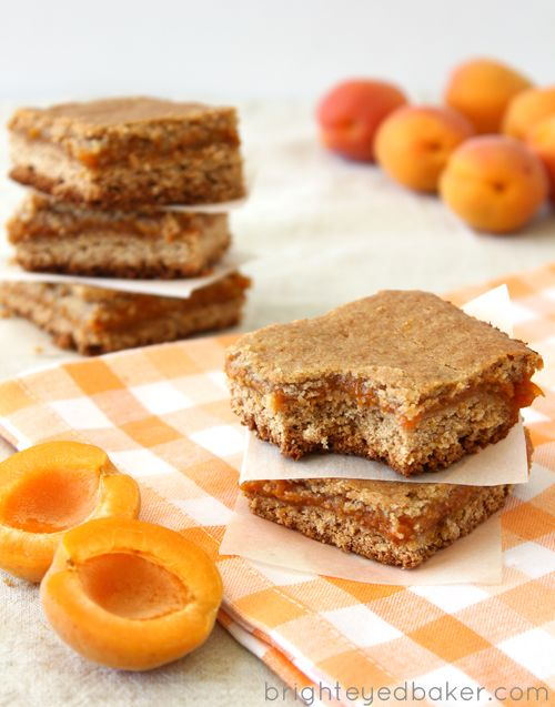 Apricot Bars - like a fig newton with a tangy apricot twist!