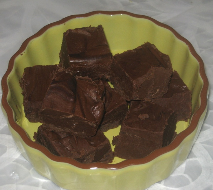 "... Simple FUDGE recipe that I have all the ingredients for in my ""pantry"