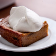 Boozy Persimmon Pudding Recipe   Sweetie Daahhhling!   Pinterest