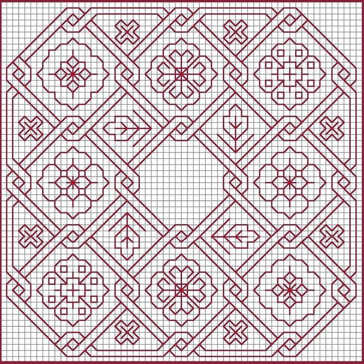 Blackwork embroidery patterns pictures makaroka