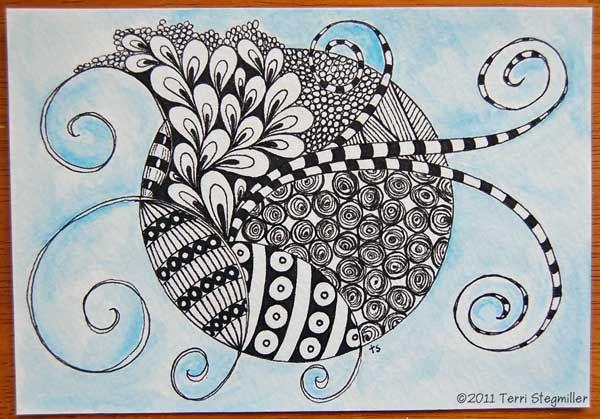 Zentangle Watercolor