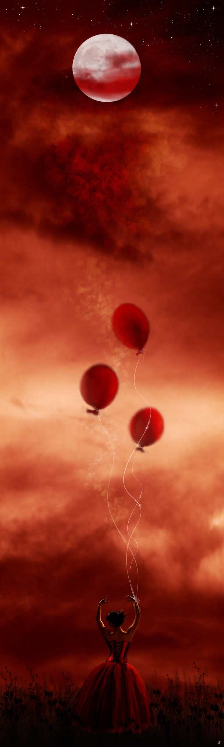 Red Moon Balloons